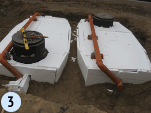 Купить автономная канализация для высоких грунтовых вод Киев
