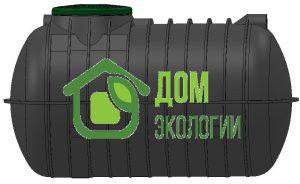 Автономная канализация для загородного дома, коттеджа • Пластиковый септик