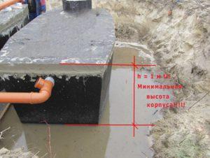 Септик для высоких грунтовых вод • Канализационный септик