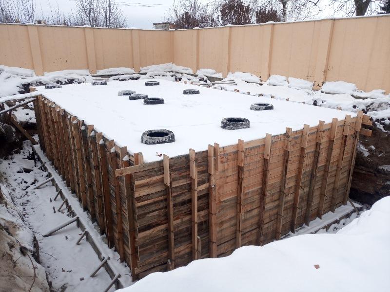 Очистные сооружения бытовых сточных вод